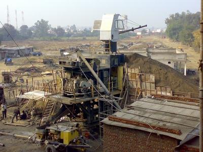 batch-mixing-concrete-plant