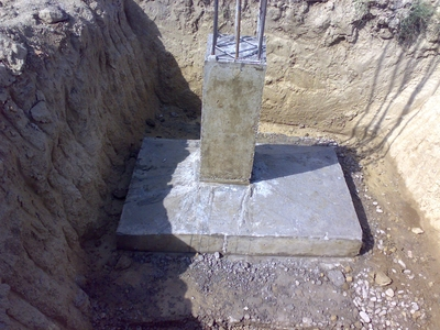 Project report six months summer training for Slab foundation definition