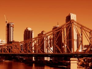 Brisbane, Queensland, Australia Bridge