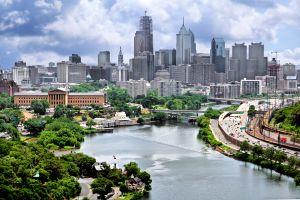 Center City Skyline, Philadelphia, Pennsylvania