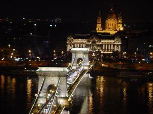 Chain Bridge, Budapest, Hungary