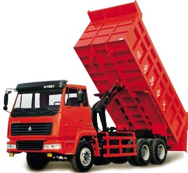 standard dump truck the standard dump truck is a full truck chassis