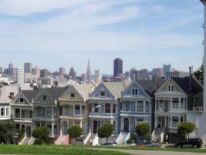 Postcard Row, San Francisco, California