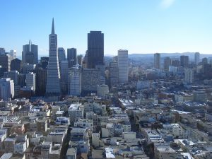 San Francisco Skyline from Twin Peaks at Dusk