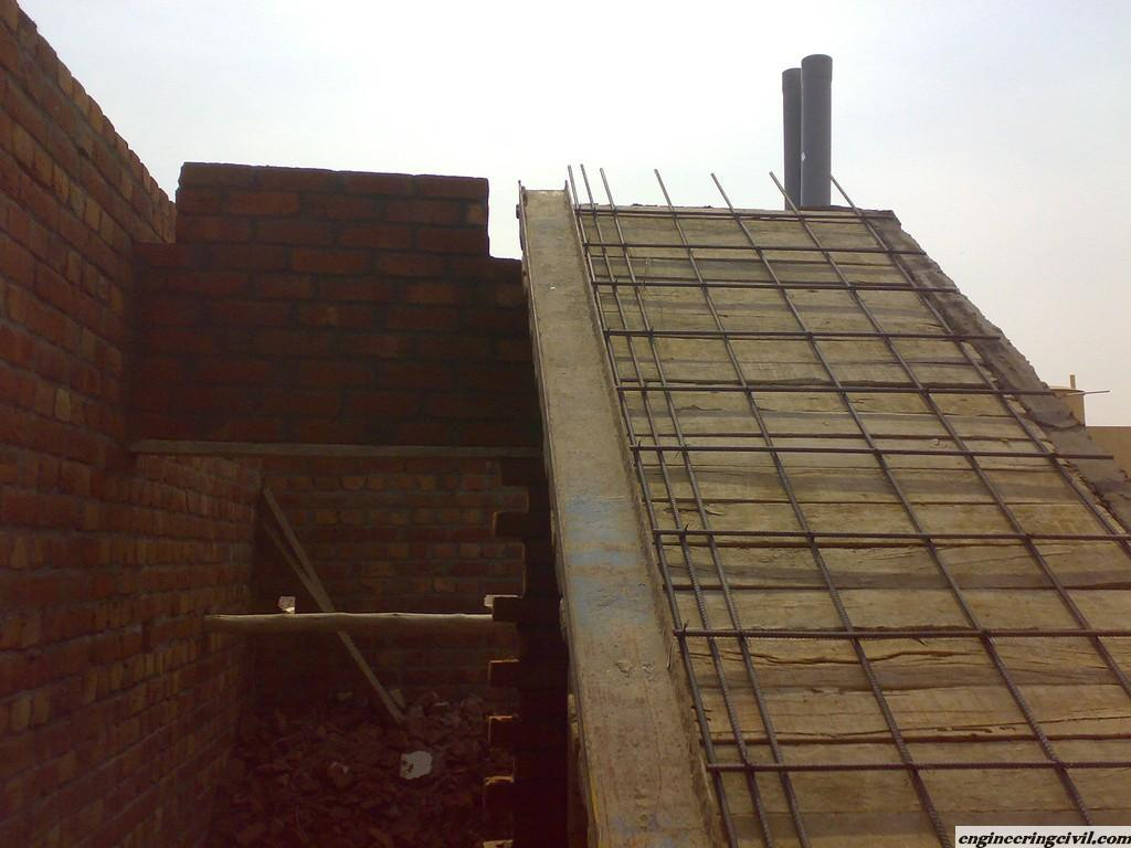 Staircase Steel and Shuttering