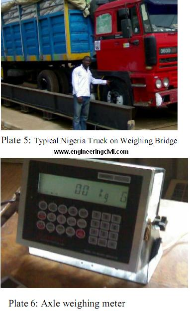 axle weighing machine