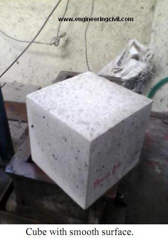 cube with smooth surface