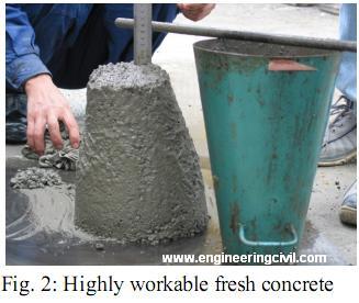 workable concrete