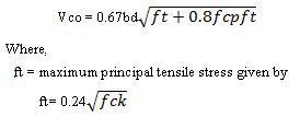 Calculation of Section un- cracked in flexure