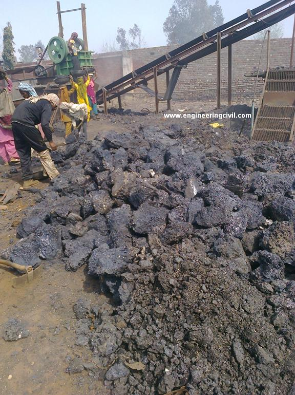 Steel Slag Cement : Sand for concrete from steel mills induction furnace waste