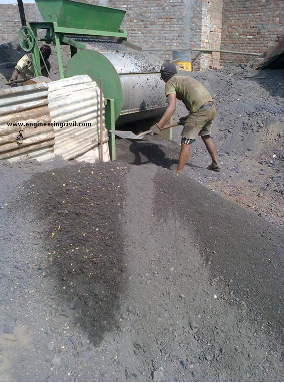 Slag In Concrete Mix : Sand for concrete from steel mills induction furnace waste