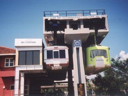 Feasibility study of Sky Bus Metro Linking Cities in