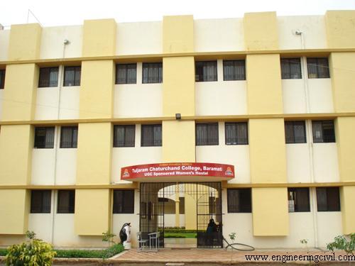 Fig. 4.5 Hostel Building at baramati