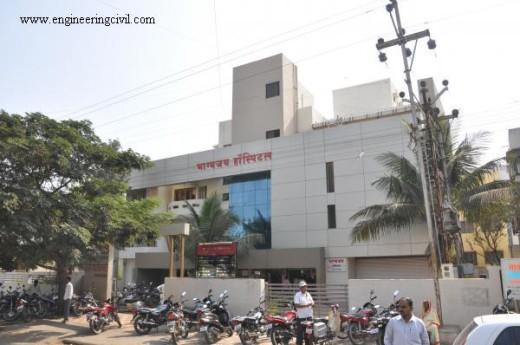 Figure 4.3 Hospital building at baramati1