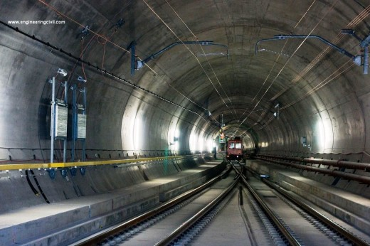 Gotthard Base Tunnel Project