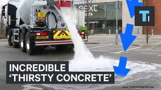 Incredible Thirsty Concrete