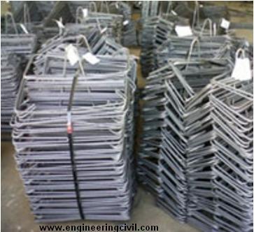 Prefabricated stirrups & links