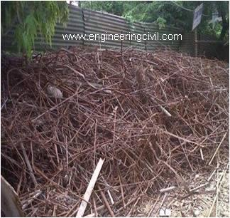 Fig 4 Scrap generation at site