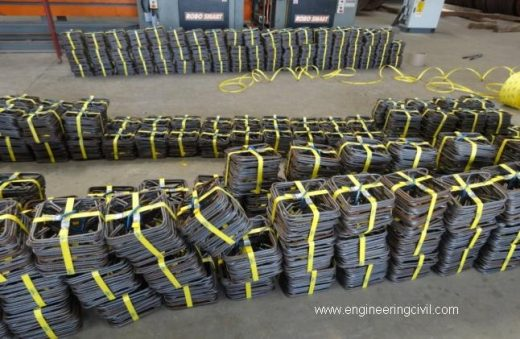 Fig 5 (s) Readybuild technology Ready-to-fix fabricated rebars as per BBS supplied at site2