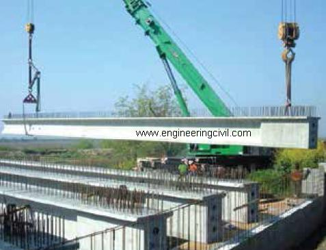 Fig 8 Longitudinal girders of BridgeFlyover
