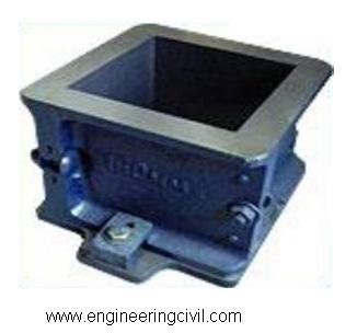 Figure 1 Cube mould of size 150 X 150 X 150 mm