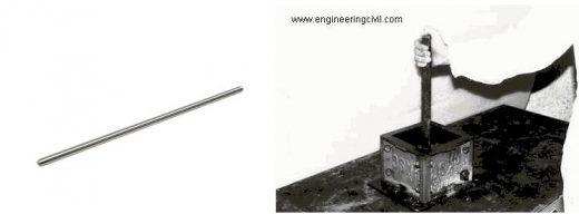 Figure 3 Tamping rod