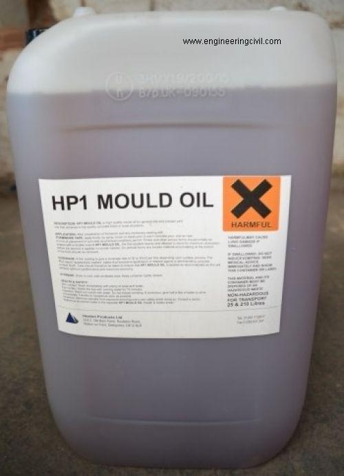 Figure 6 Typical type of Mould oil