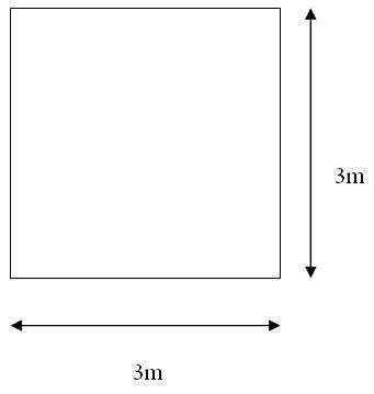 Design of 3x3 slab