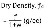 Dry-density