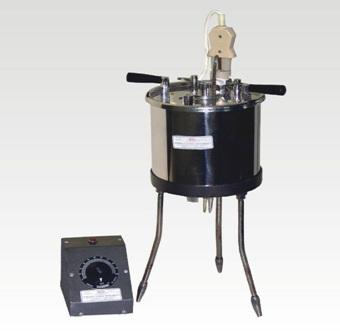 Saybolt Viscometer to determine viscosity of bitumen