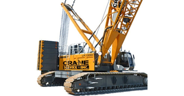 Fig 8 Crawler Mounted Crane