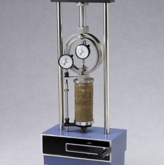 Unconfined Compressive Strength Test Apparatus