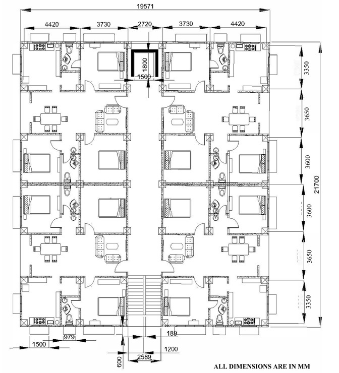 Building Plan Dimensions
