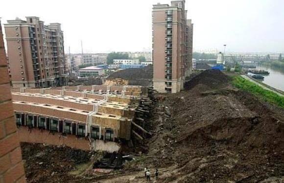 Failure of Lotus Riverside complex