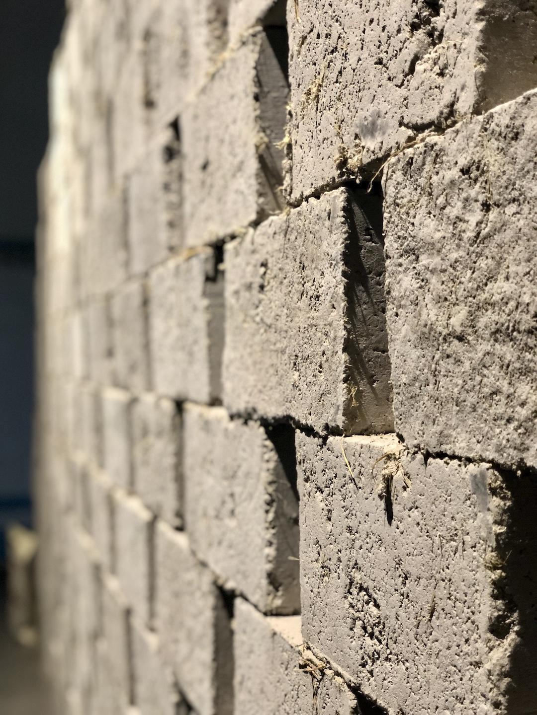 Fig 3 Carbon-Negative brick by GreenJams