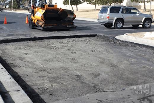 Full-depth road repairs