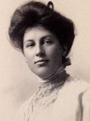 A portrait of Nora Stanton Barney