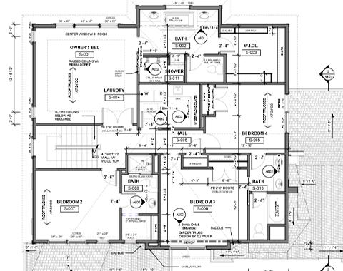 2D house plan in Revit