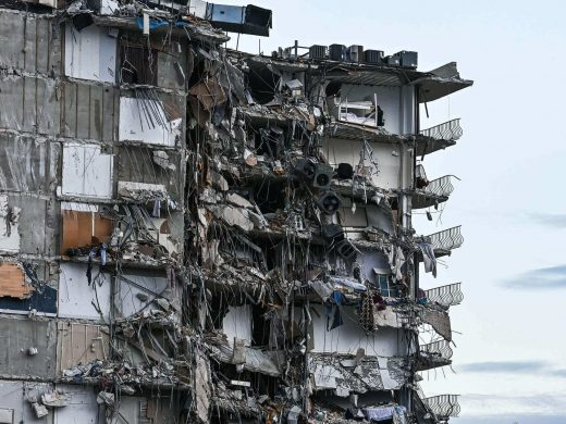Rebars wholly damaged in the buildingCourtesy- Business- Insider