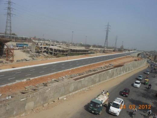 Signature Bridge Project Delhi India